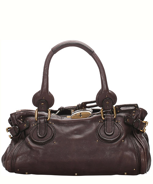 Schultertasche Chloe Pre-Owned 0cclhb003 marrone