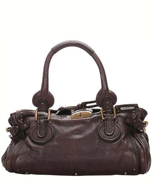 Shoulder bag Chloe Pre-Owned 0CCLHB003 marrone