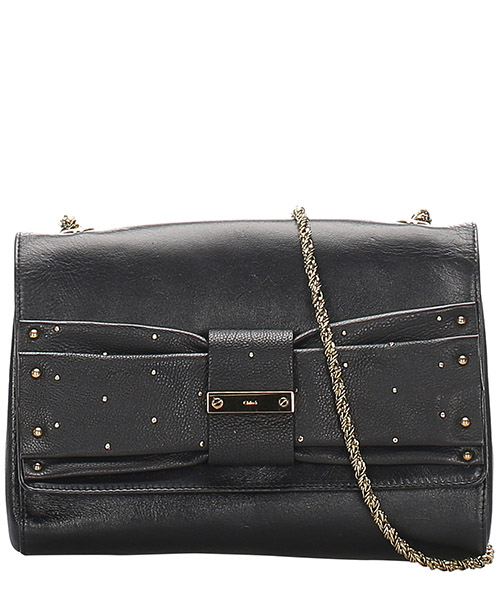 Schultertasche Chloe Pre-Owned 0dclsh002 nero