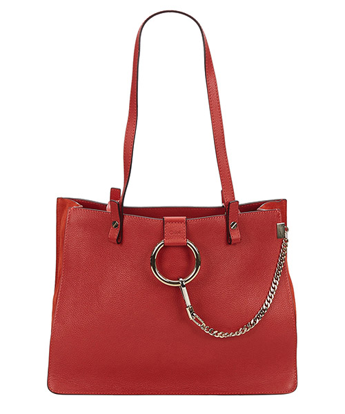 Schultertasche Chloe Pre-Owned 8bclto001 rosso