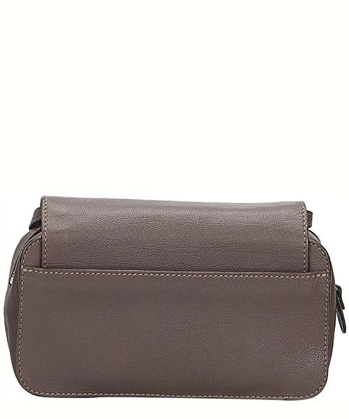 Women's leather cross-body messenger shoulder bag elsie mini secondary image