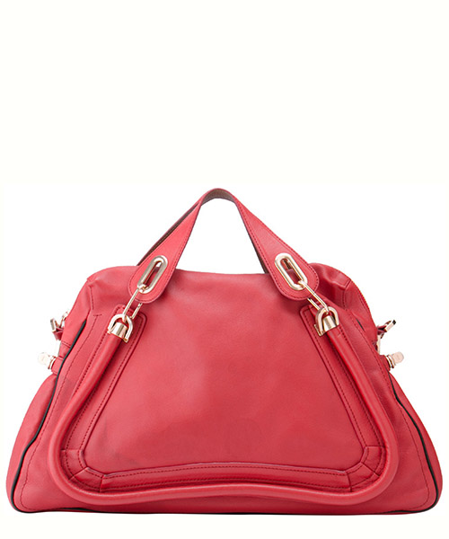 Handbags Chloe Pre-Owned 9JCLSH002 rosso