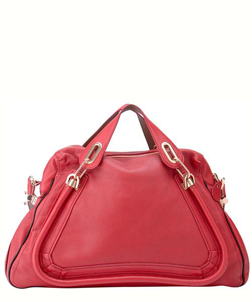 Women's leather handbag shopping bag purse paraty secondary image