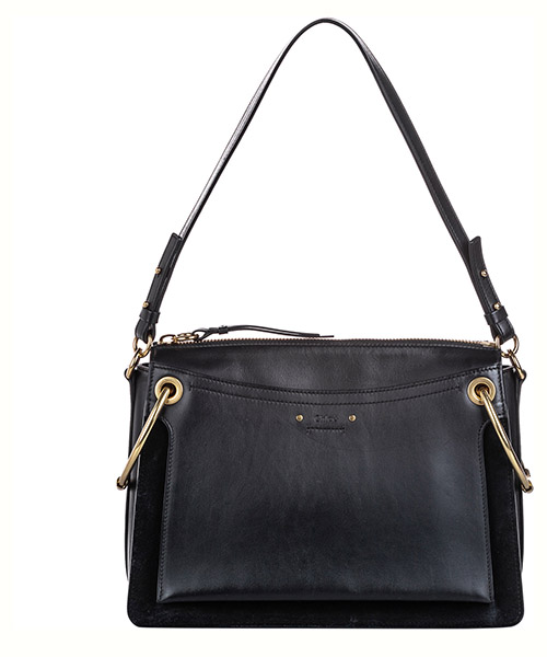 Schultertasche Chloe Pre-Owned ff0clst007 nero