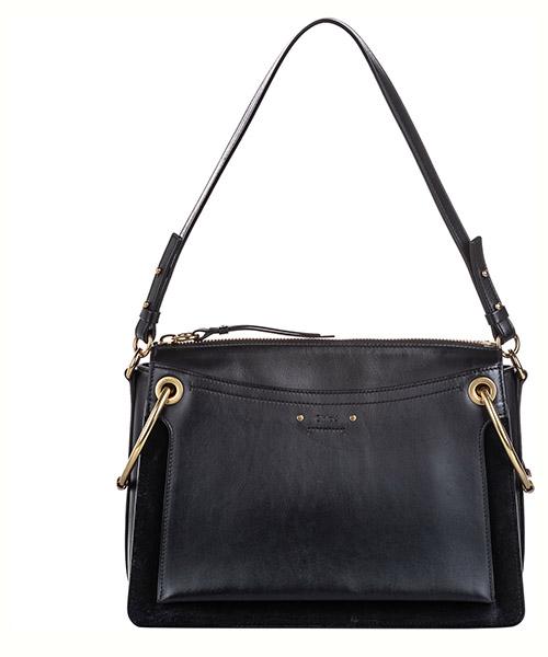 Shoulder bag Chloe Pre-Owned FF0CLST007 nero
