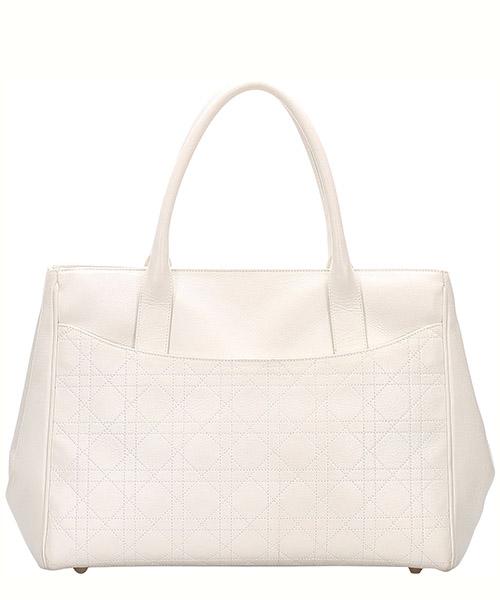 Bolso de mano para compras en piel mujer cannage secondary image