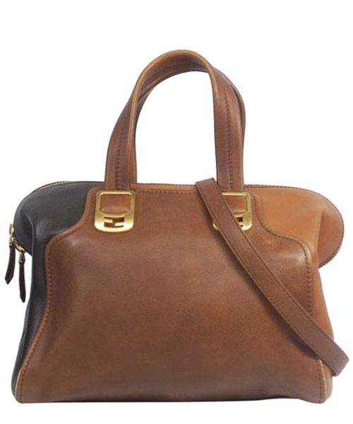 Bolsas de mano Fendi Pre-Owned 0AFNHB015 marrone