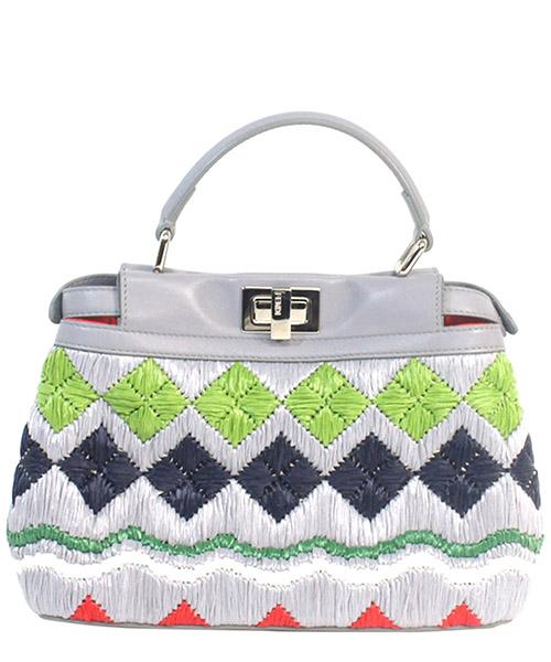 Bolso de mano para compras en piel mujer mini peekaboo secondary image