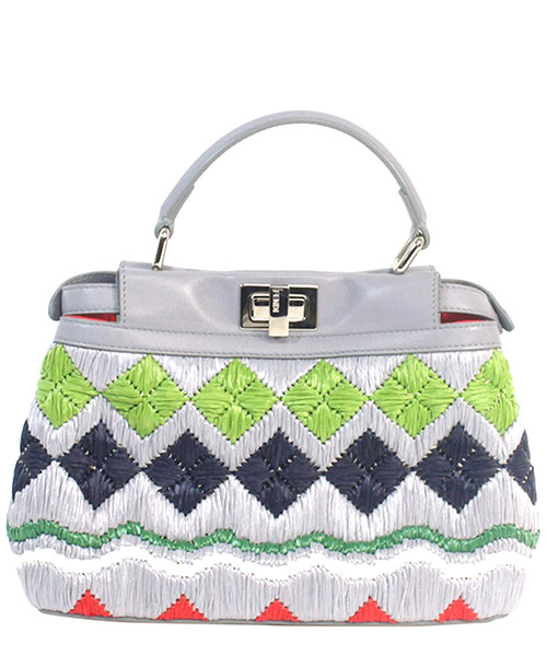 Leder handtasche damen tasche bag mini peekaboo secondary image