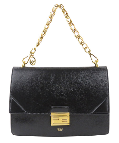 Bolsa de asa larga Fendi Pre-Owned 0EFNSH001 nero