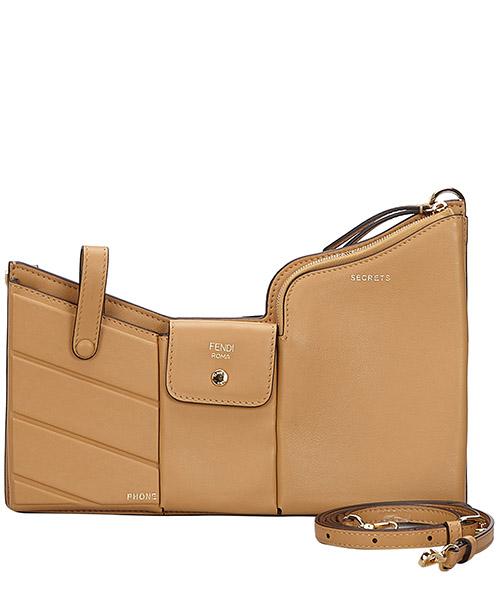 Shoulder bag Fendi Pre-Owned 9HFNCX001 marrone