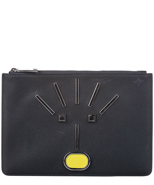 Clutch Fendi Pre-Owned ff0fnpo005 nero