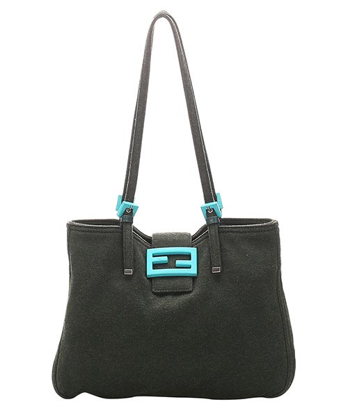 Bolsa de asa larga Fendi Pre-Owned GLJ0EFNTO004 nero