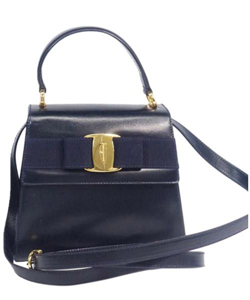 Shoulder bag Ferragamo Pre-Owned 0AFRSH008 nero