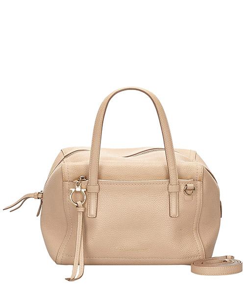 Bowler bag Ferragamo Pre-Owned 9IFRHB001 beige