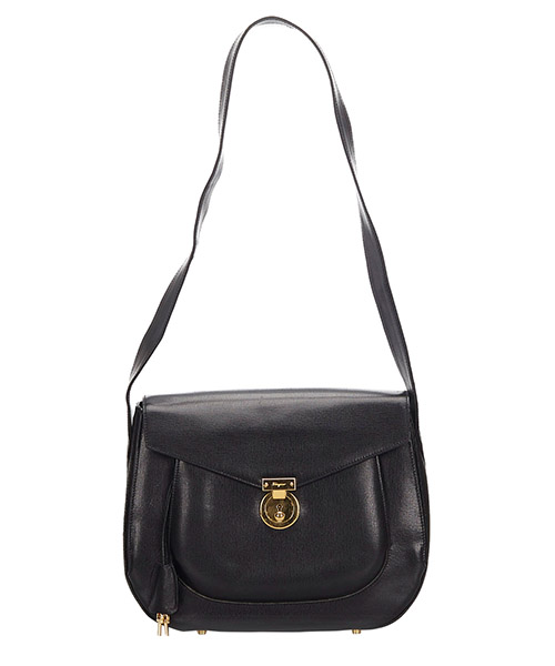Shoulder bag Ferragamo Pre-Owned 9LFRSH001 nero