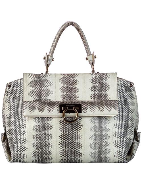 Handtaschen Ferragamo Pre-Owned ff0frhb004 bianco