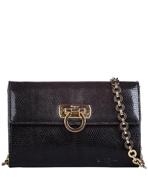 Clutch bag Ferragamo Pre-Owned FF0FRSH005 nero