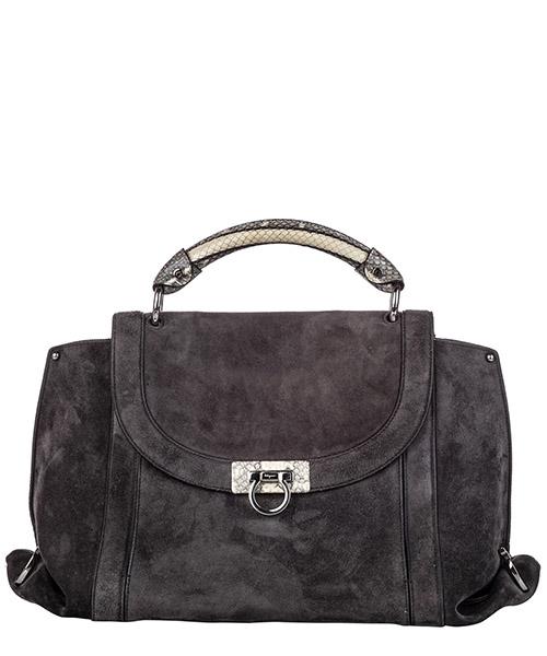 Handtaschen Ferragamo Pre-Owned ff0frst003 grigio