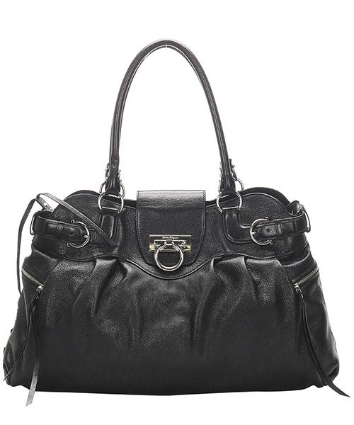 Shoulder bag Ferragamo Pre-Owned GLJ0GFRSH004 nero