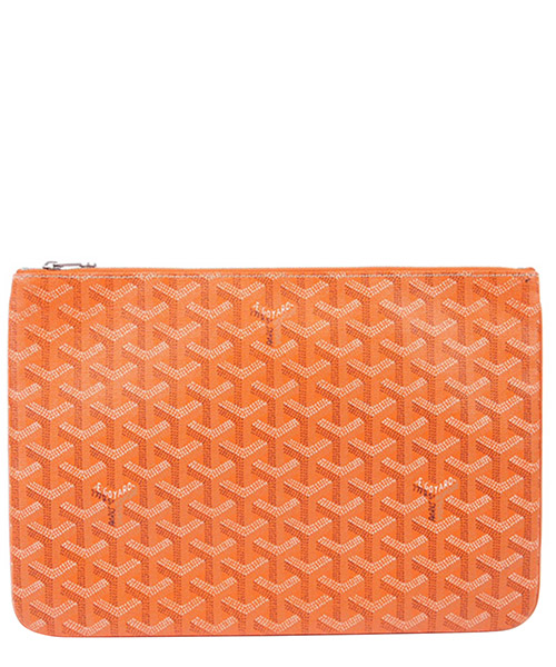 Clutch bag Goyard Pre-Owned GVJ0GGOCL001 arancio