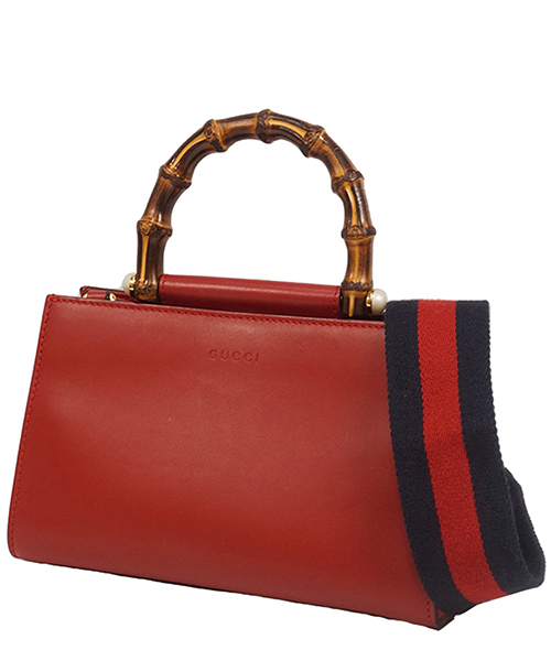 Handbags Gucci Pre-Owned 0AGUST007 rosso