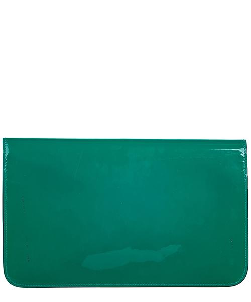 Women's leather clutch handbag bag purse  bright bit secondary image
