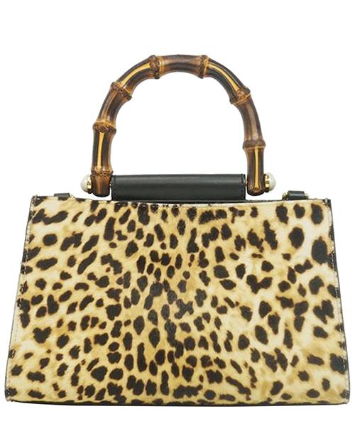 Women's leather handbag shopping bag purse mini nymphaea secondary image