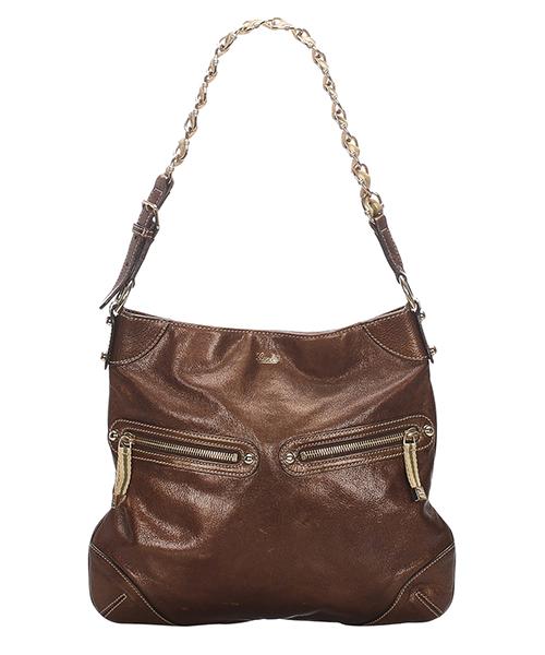 Shoulder bag Gucci Pre-Owned 0CGUSH014 marrone