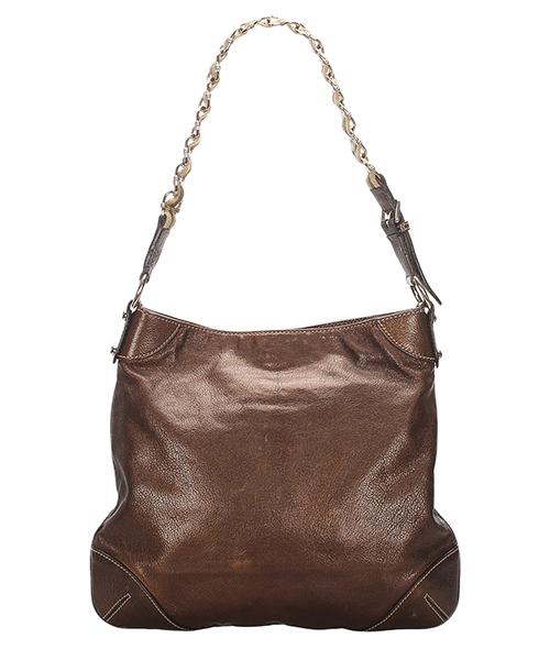 Women's leather shoulder bag capri ranch secondary image