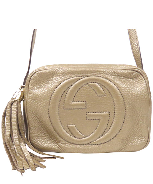 Crossbody bags Gucci Pre-Owned 0EGUCX005 oro