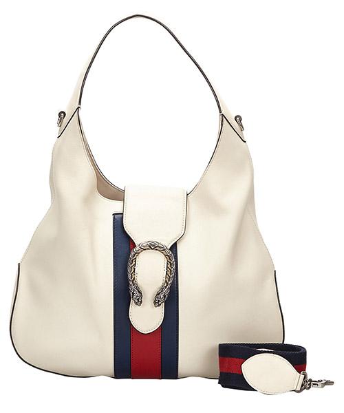 Hobo bags Gucci Pre-Owned 9IGUHB015 bianco