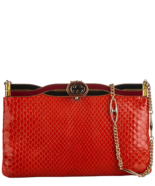 Clutch Gucci Pre-Owned FF0GUCX065 rosso