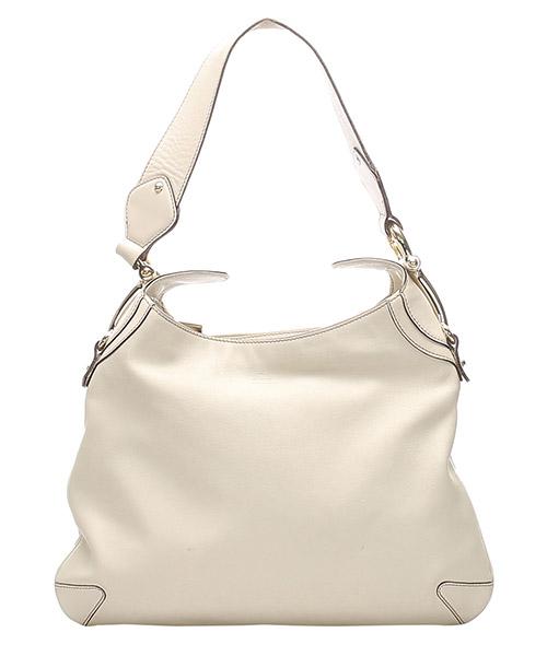 Hobo Bags Gucci Pre-Owned glj0fgush027 bianco