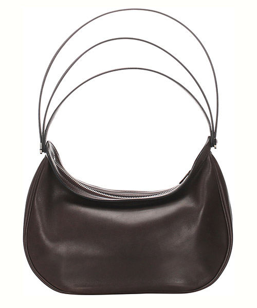 Women's leather shoulder bag caporal secondary image