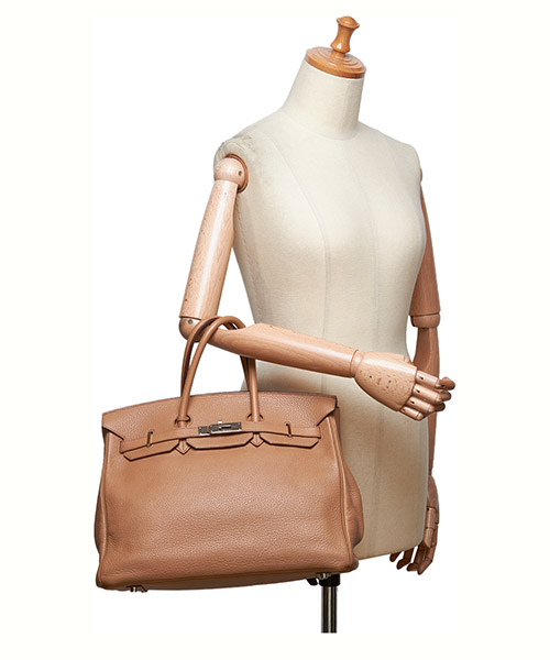 Leder handtasche damen tasche bag birkin 35 secondary image