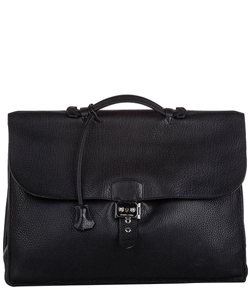 Briefcase Hermes Pre-Owned FF0HEBS003 nero