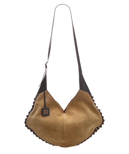 Bolsa de asa larga Loewe Pre-Owned 0CLOSH002 marrone