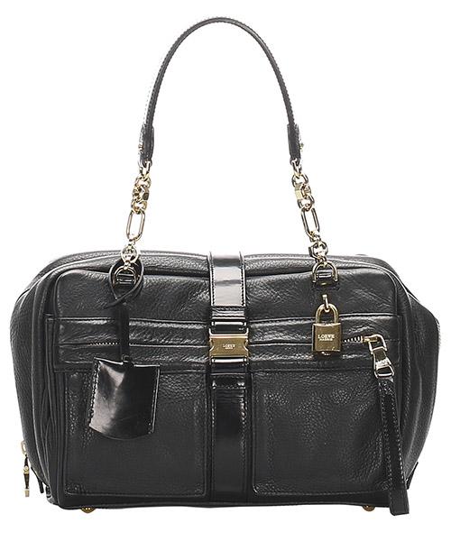Shoulder bag Loewe Pre-Owned GLJ0GLOST001 nero