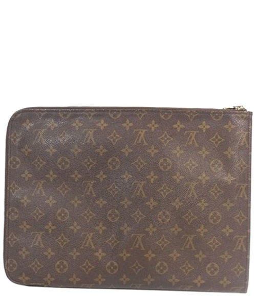 Clutch bag Louis Vuitton Pre-Owned 0ALVBS003 marrone