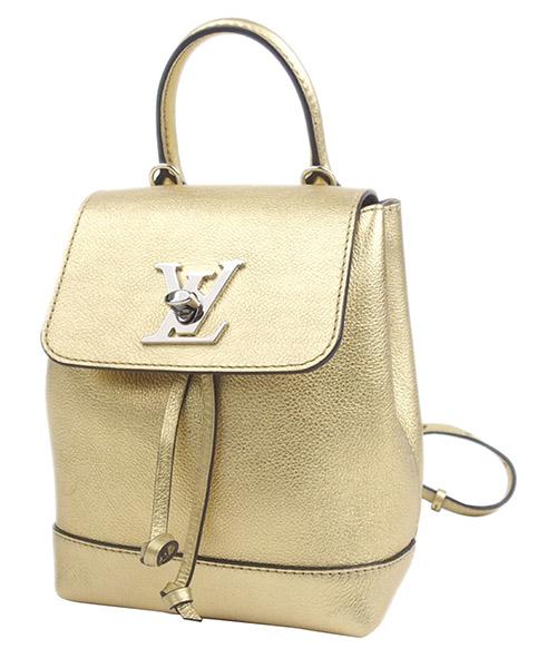 Mochila Louis Vuitton Pre-Owned 0DLVBP002 oro