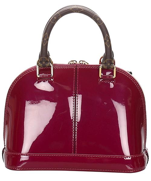 Bolso de mano para compras en piel mujer vernis miroir alma bb secondary image