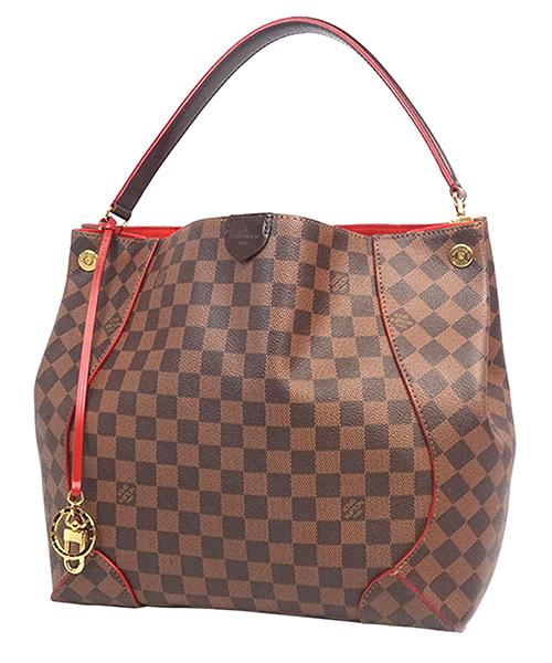 Women's handbag shopping bag purse  damier ebene caissa hobo secondary image