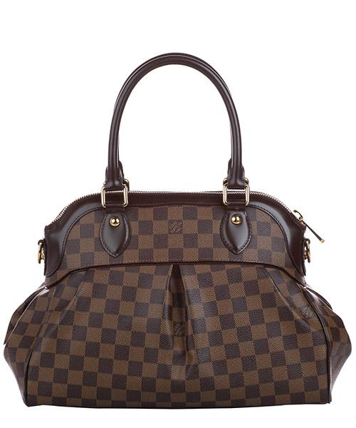 Women's handbag shopping bag purse  damier ebene trevi pm secondary image