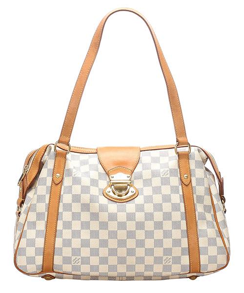 Bolsa de asa larga Louis Vuitton Pre-Owned 0FLVSH081 bianco