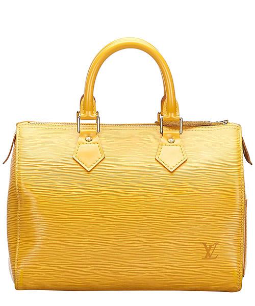 Women's leather handbag shopping bag purse epi speedy 25 secondary image