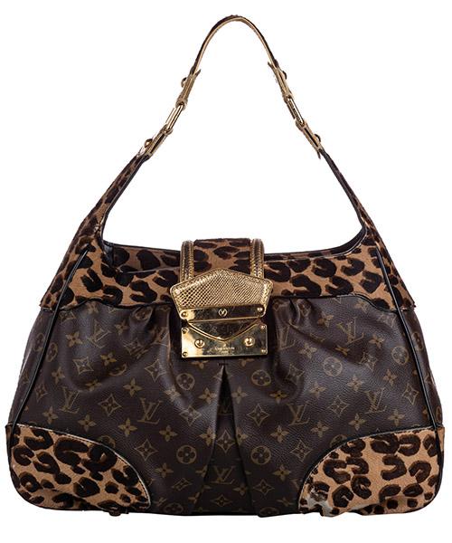 Bolsa de asa larga Louis Vuitton Pre-Owned FF0LVSH057 marrone