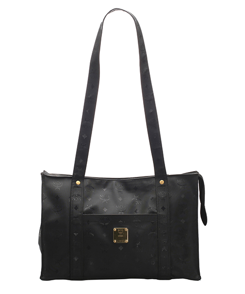Shoulder bag MCM Pre-Owned 0BMCSH001 nero
