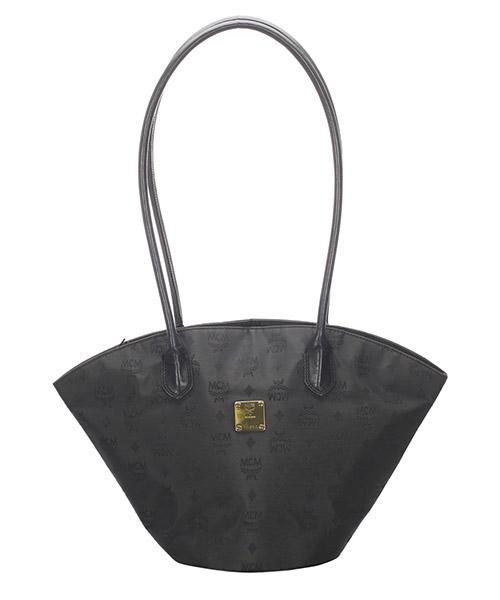 Shoulder bag MCM Pre-Owned GLJ0EMCSH002 nero
