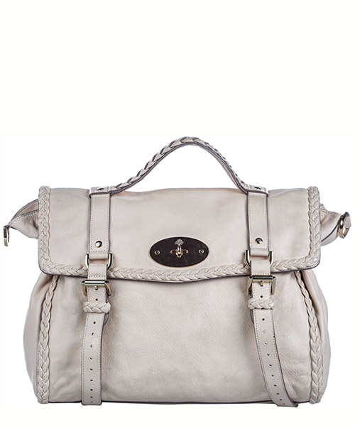 Handbags Mulberry Pre-Owned FF0MBST004 bianco